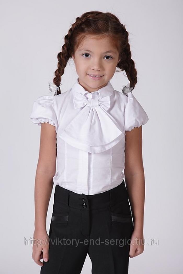Блузка для девочки своими руками фото
